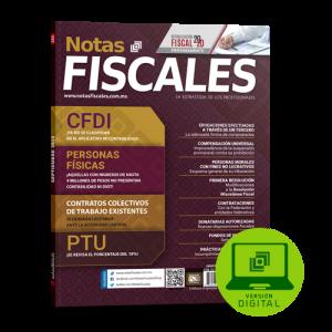 Notas Fiscales Septiembre 2019