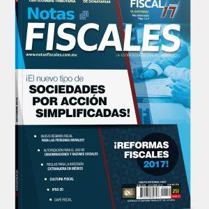 NOTAS FISCALES 251 (Octubre 2016)