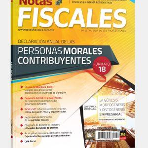 NOTAS FISCALES 256 (Marzo 2017) <h5>Revista solo disponible en formato Digital</h5>