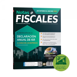 Notas Fiscales 268 (Marzo 2018)<h5>Revista solo disponible en formato Digital</h5>