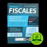 NOTAS FISCALES 275 (Octubre 2018)<h5>Revista solo disponible en formato Digital</h5>