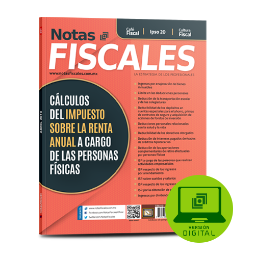Notas Fiscales abril 2019