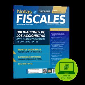 NOTAS FISCALES 284 (Julio 2019) formato digital
