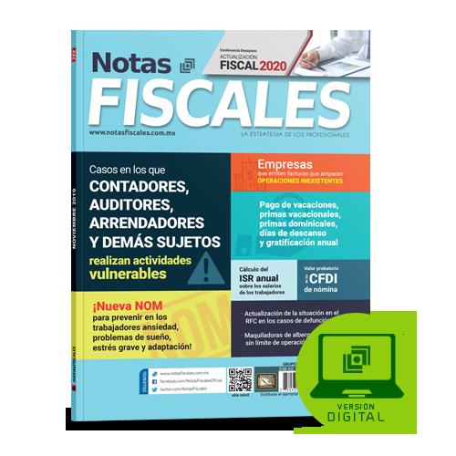 Notas Fiscales 288