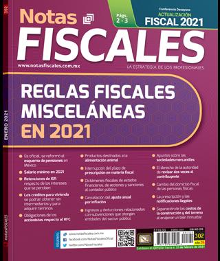 Notas fiscales No. 302 (enero 2021)