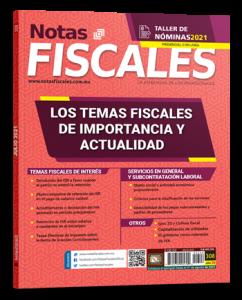 Lee más sobre el artículo Notas Fiscales 308 (Julio 2021)