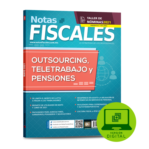 Notas Fiscales 306 (mayo 2021)