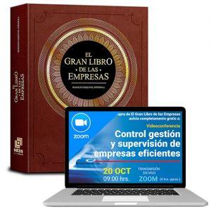 El gran libro de las empresas + Control, gestión y supervisión de empresas eficientes