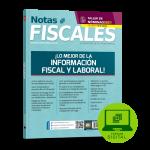 NOTAS FISCALES 309 (agosto 2021) Digital